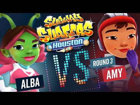 Subway Surfers Versus | Alba VS Amy | Houston - Round 3 | SYBO TV