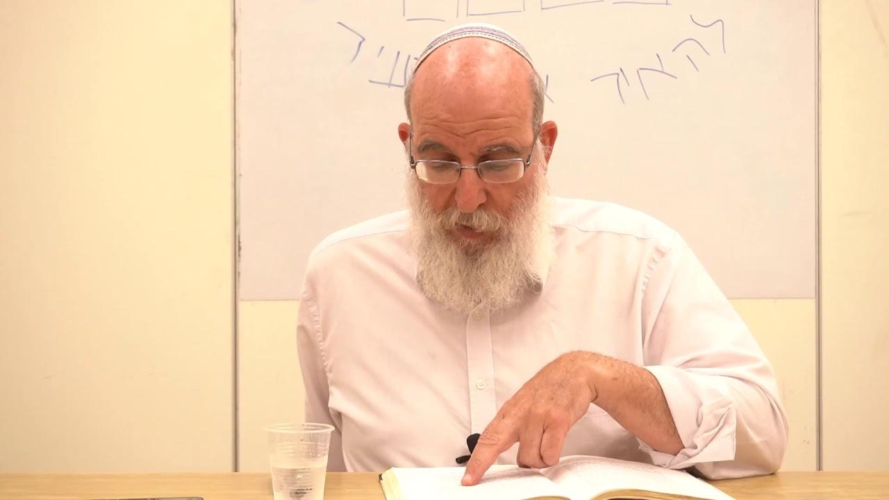 המצב בגלות - למהלך האידאות בישראל - הרב אליעזר קשתיאל