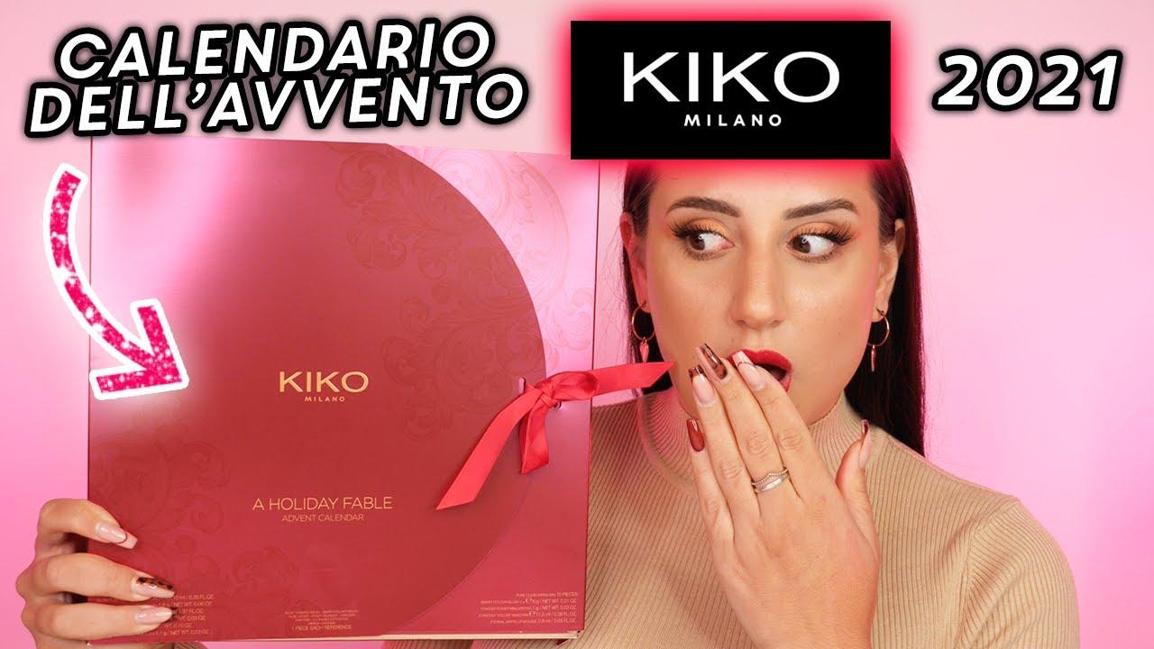 CALENDARIO DELL'AVVENTO KIKO 2021 🎁