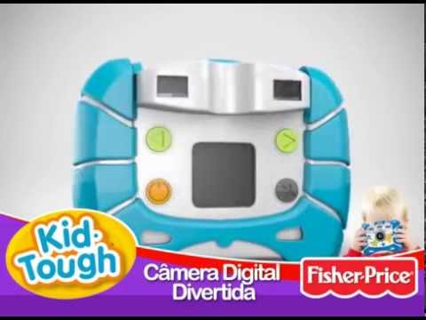 Fisher Price Kid Tough Mattel - R7314 Camera Digital Divertida : Demo 2010
