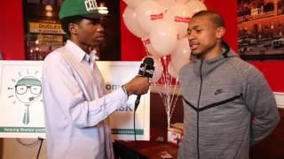 Boston Celtics Isaiah Thomas Interview