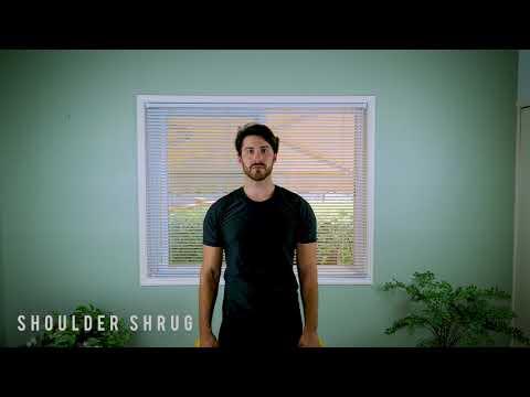 How to do a Shoulder Shrug - Stretch Tutorial