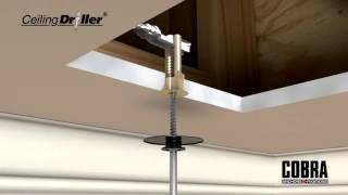 Cobra anchors- Ceiling driller