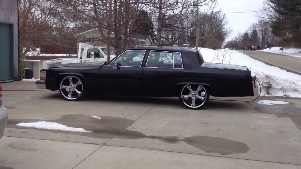 1981 CADILLAC DEVILLE DROPPED - YouTube