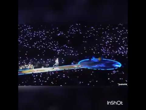 A sky full of star - coldplay Stockholm 2016