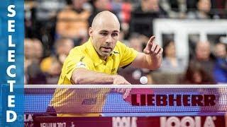 Timo Boll vs Daniel Habesohn (TTBL Selected)