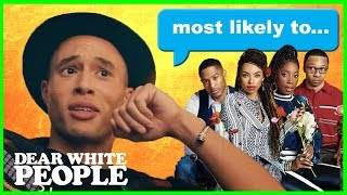 "Netflix's Dear White People Star Jemar Michael Plays ""Most Likely To..."" with Castmates"