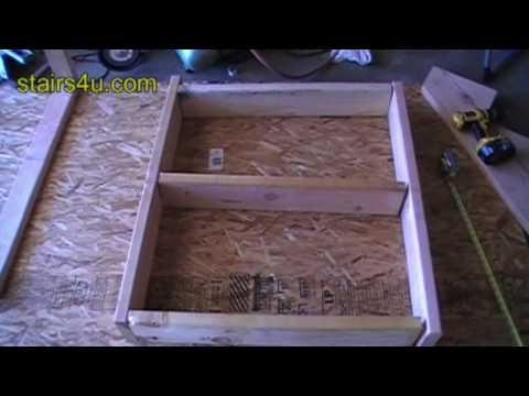 Stair Landing Framing Tips - Carpenter Training Tips