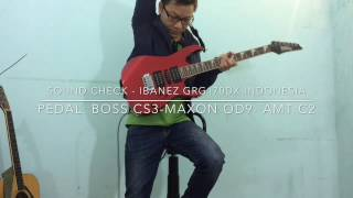How to setup (IBANEZ GIO GRG170DX INDONESIA) sound like Stratocaster & Les Paul