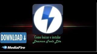Como Baixar E Instalar O  DAEMON Tools Lite ( MediaFire )