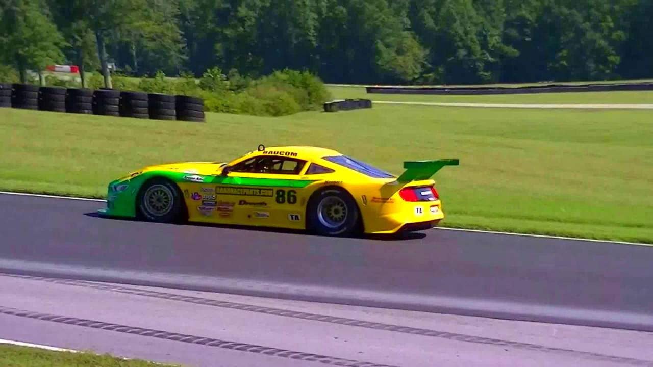 2016 VIR SCCA Trans Am race - TA cars - YouTube