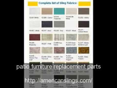 Patio Furniture Replacement Slings: The Best, Only From Amer   YouTube