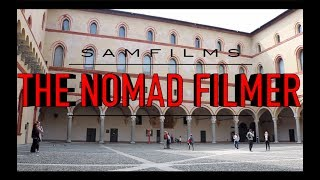 sightseeing in Lombardy, and an AC milan match!! - THE NOMAD FILMER