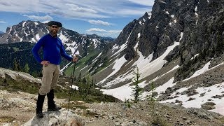"""PCT WA: Hart's Pass to Canada to Rainy Pass """"Northern Cascades"""" PCT Section L"""