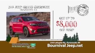 Test Drive the 2018 Jeep Grand Cherokee Trackhawk 4X4 at Bournival Jeep!