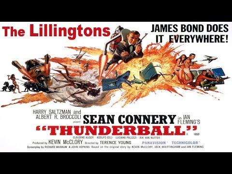 Thunderball - The Lillingtons, bass cover