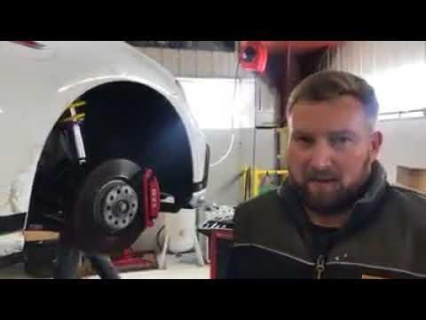 Audi RS5 milltek exhaust and MK7 VW Golf GTI clubsport KW VW suspension