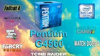 Pentium G4560 Test in 7 Games (GTX 1050)