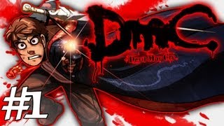 How Dante Got His Groove Back - DMC - Devil May Cry Gameplay / Walkthrough w/ SSoHPKC Part 1 - Welcome to New Detroit