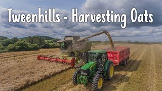 Tweenhills - Harvesting Oats - 4K