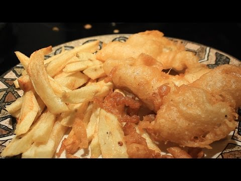 How To Make Long John Silvers Style Fried Fish ~ English Fish & Chips