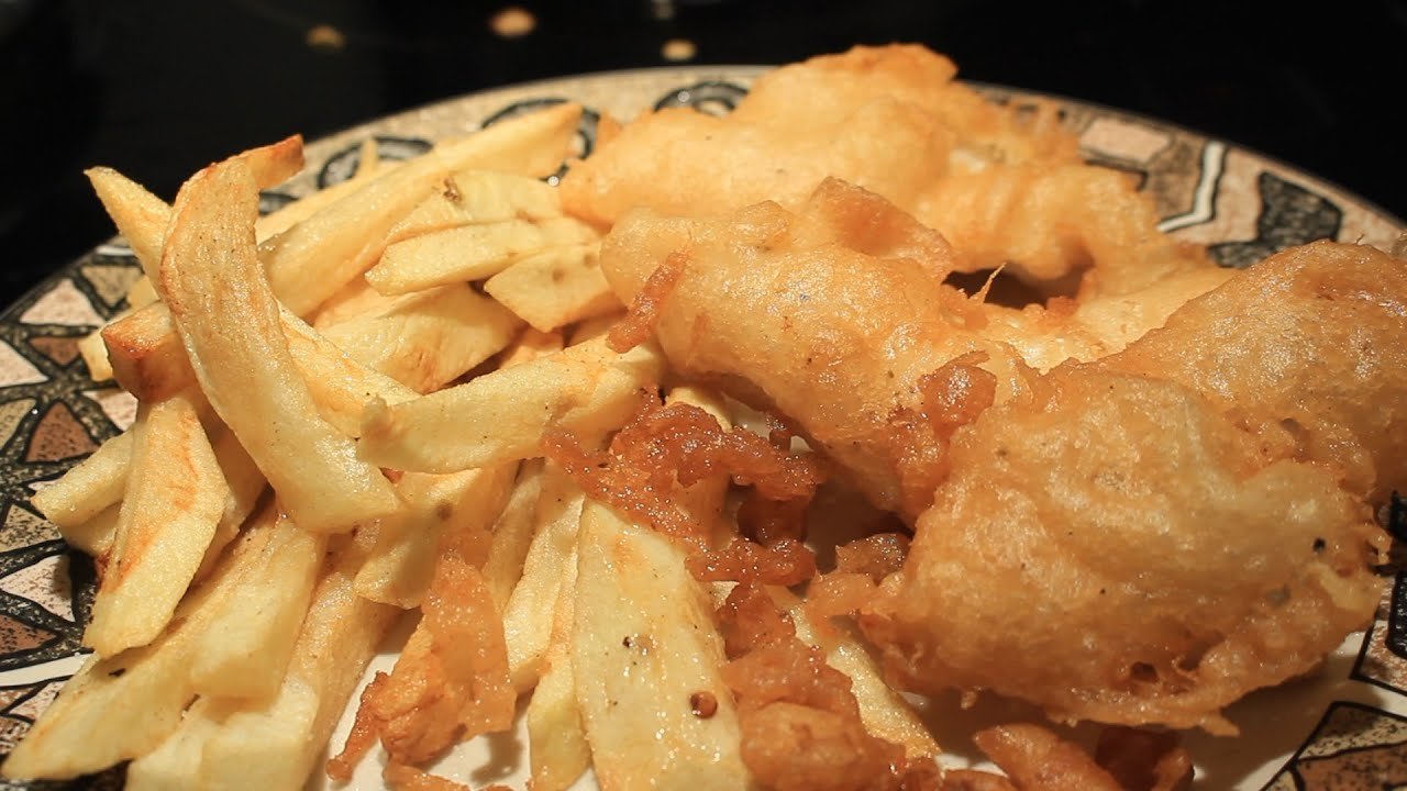 How to make long john silvers style fried fish english for Long john silver fish and chips