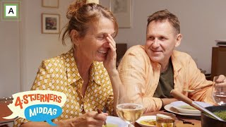 4-stjerners Middag | Dramatikk når Kari Slaatsveen dekker på med kniv og gaffel til suppe | TVNorge