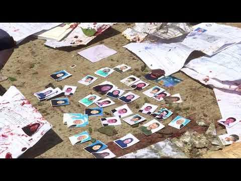 Suicide Attack On Kabul Voter Registration Center Kills 57 People