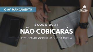 Estudo Bíblico 23/09/2020 - O 10º Mandamento