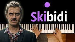 LITTLE BIG – SKIBIDI ● караоке | PIANO_KARAOKE ● + НОТЫ & MIDI
