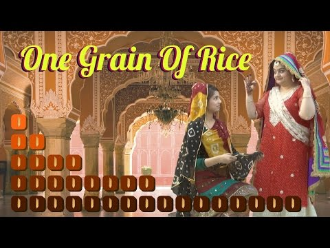 One Grain of Rice | Maths Story - Exponential Growth | NutSpace