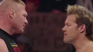 Brock Lesnar and Chris Jericho real fight backstage