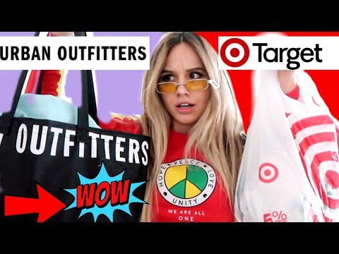 $100 CHALLENGE: TARGET vs URBAN OUTFITTERS