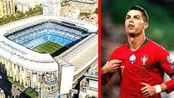 Dieser Verein _____ will sein Stadion Cristiano Ronaldo nennen !