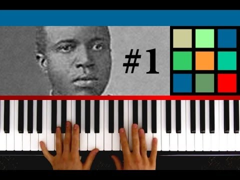 "How To Play ""The Entertainer - Part 1"" Piano Tutorial / Sheet Music (Scott Joplin)"