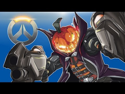 Overwatch - Junkenstein's Revenge! Halloween Terror (1st Time Playing Overwatch!)