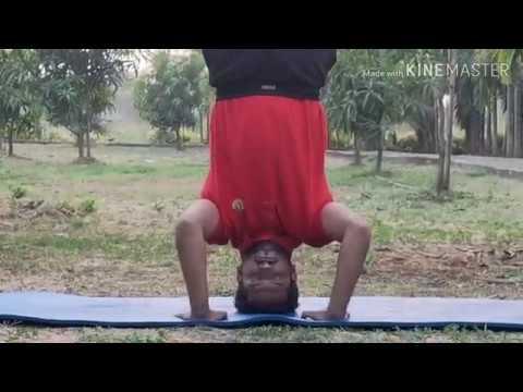 shirshasanheadstand variationtripod headstand with