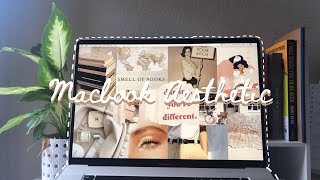 Macbook Pro Unboxing + How to Customize Macbook (Aesthetic wallpaper, icons, screensaver, etc.)