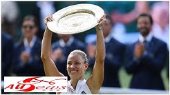 Wimbledon-Finale im Ticker: Kerber gewinnt zum ersten Mal in London
