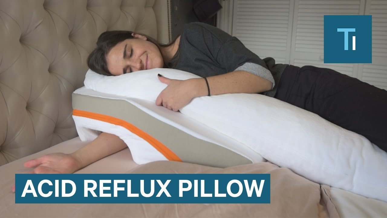 I tried to ease my acid reflux symptoms with a pillow for Body pillow for acid reflux