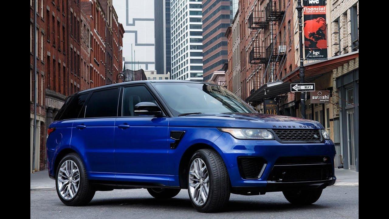 2017 Land Rover Range Evoque Svr New Edition