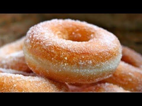 Donas de azúcar caseras y esponjosas