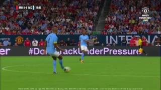 2017/7/20 MANCHESTER CITY Build up vs MANCHESTER UNITED