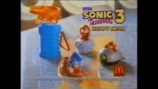 McDonald's Commercial (1993) (Recording studio, Sonic the Hedgehog 3)