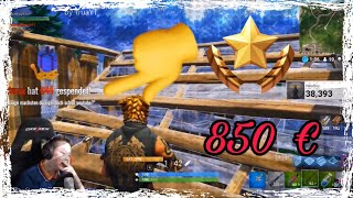 NIKEBOY BEKOMMT 850€ SPENDE!!!!!!!!😍😱😱😱❤😱 | by TruaYT