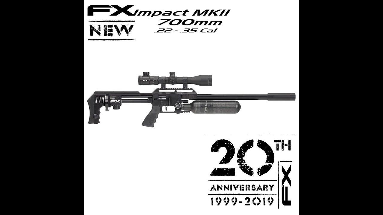 IWA 2019 - FX Impact X MkII - YouTube