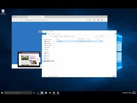 Windows 10 Drag & Drop bug