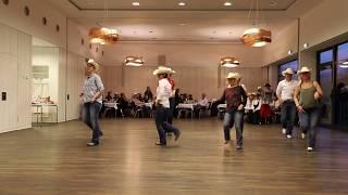 CHOP, Line Dance, Lilly und Mario tanzen in Deutschland
