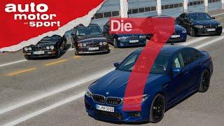 Die Krawall-Limousine: Sieben Fakten rund um die Historie des BMW M5 | auto motor und sport