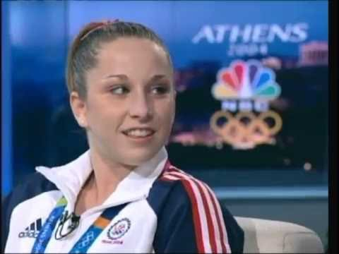 Carly Patterson 2004 AA Gold Medal Ceremony + Interview